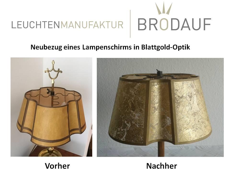 Lampenschirm beziehen lassen Berlin
